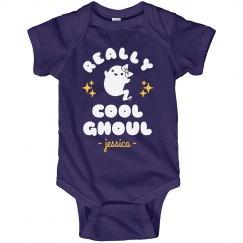 Really Cool Ghoul Custom Onesie