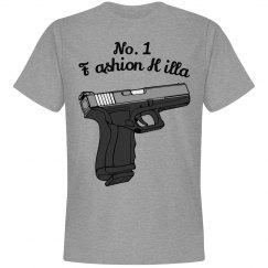 Grey No.1 FK Shirt