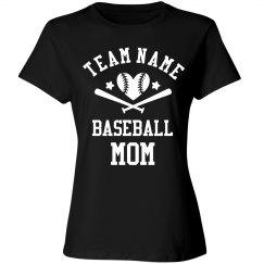 Custom Plus Size Baseball Mom