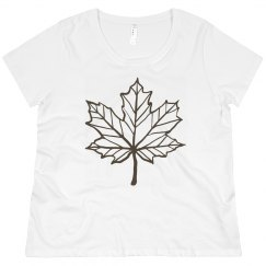 Fall leaf shirt.