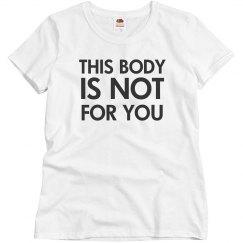 My Body My Choice Tee