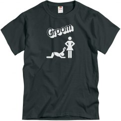 Groom - Giving it up - Charcoal Grey