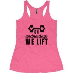 We Lift Mean Girl Workout Shirt