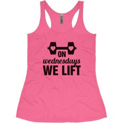 We Lift Mean Girl Workout Shirt