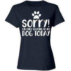 Dog love humor