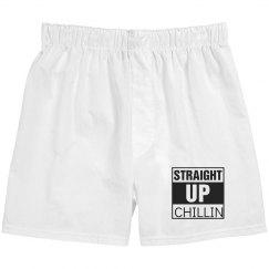 Women's Straight Up Chillin Boxer Shorts