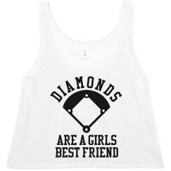 Diamonds Are A Girls Best Friend Ball Player