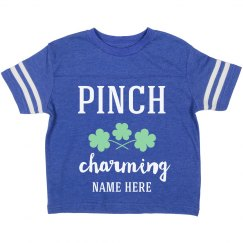 Pinch Charming Custom Toddler St. Patrick's Day Tee