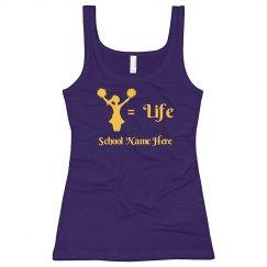 Cheer Equals Life