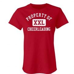Property Of Cheerleading