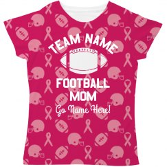Breast Cancer Football Mom Pattern