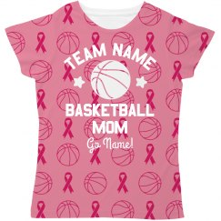 Breast Cancer Basketball Mom