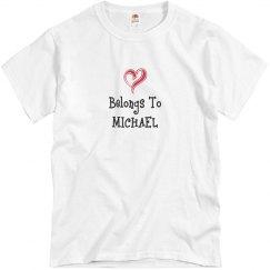 My heart is Michaels