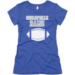 Shelbyville football tee