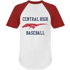 Custom Baseball Ringer tee