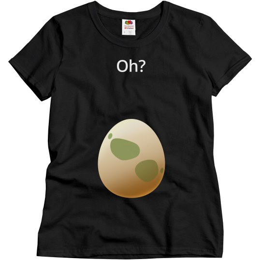 3be035c1c67d7 Oh? Poke Go Hatch An Egg Maternity Shirt Ladies Relaxed Fit Basic T-Shirt:  This Mom Means Business!