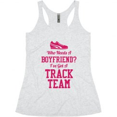 Girl's Track Team Love