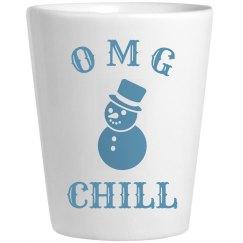 Funny Sassy Chill Snowman