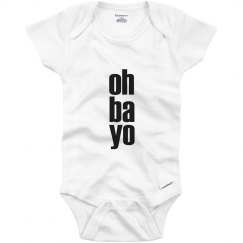Oh Ba Yo Infant Onesie