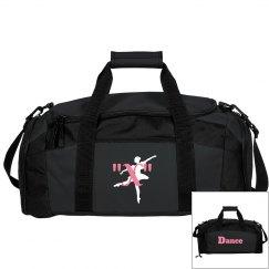 monogrammed dance bag