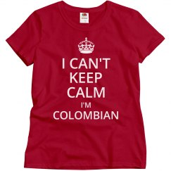 I'm Colombian