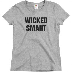 Wicked Smaht Basic Tee