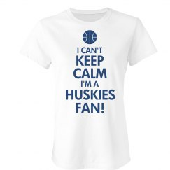 Keep Calm Huskies Madness