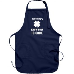 Irish Girls Are Lucky Cooks Apron