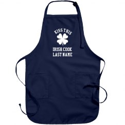 Custom Kiss The Cook Irish Apron