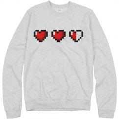 Hearts Crewneck
