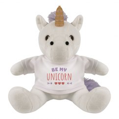 Be My Unicorn Stuffed Valentine