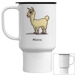 Llama Coffee Cup