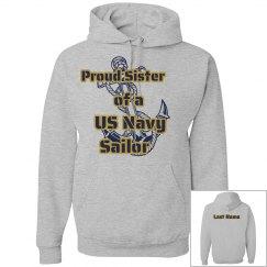 Navy Sister Hoodie w/ LN