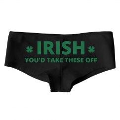 Funny St Patricks Day Underwear