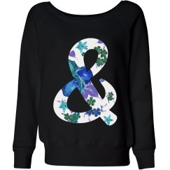 Slouchy Floral Ampersand