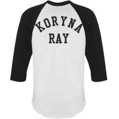 Koryna Ray Baseball Tee
