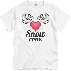 I love snow cones