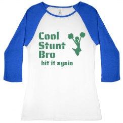 Cool Stunt Cheerleader