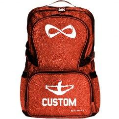 Custom Text Cheerleader Backpack