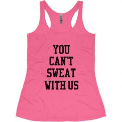 Can't Sweat Funny Fitness