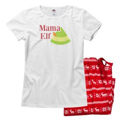Mama Elf Matching Jammies