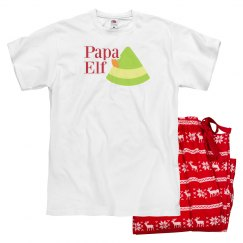 Papa Elf Holiday Design