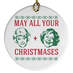 Christmas Bea White Gift