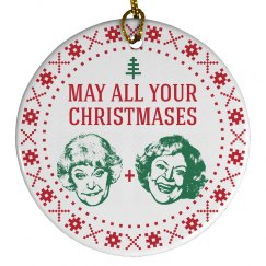 Christmas Bea White Golden Girls