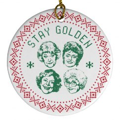 Stay Golden Girls Christimas
