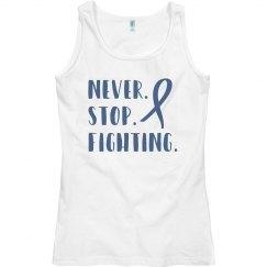Never stop fighting ALS tank top.