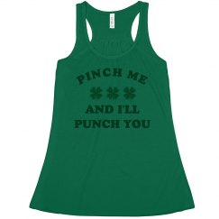Pinch Me And I'll Punch You Design