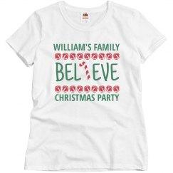 Custom Family Christmas Party