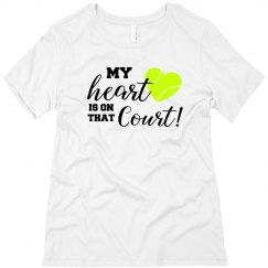 Heart on Court WHITE