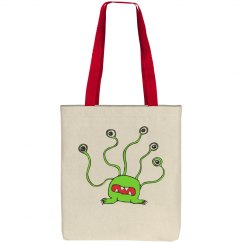 Alien - Cotton Canvas Tote Bag